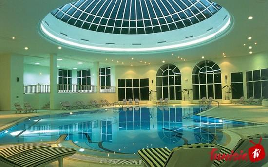 Hotel Ras El Ain Tozeur pool