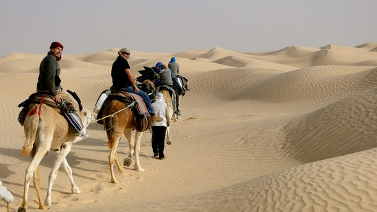 How should you prepare for camel trekking